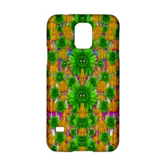 Jungle Love In Fantasy Landscape Of Freedom Peace Samsung Galaxy S5 Hardshell Case