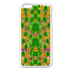 Jungle Love In Fantasy Landscape Of Freedom Peace Apple iPhone 6 Plus/6S Plus Enamel White Case