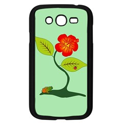 Plant And Flower Samsung Galaxy Grand DUOS I9082 Case (Black)