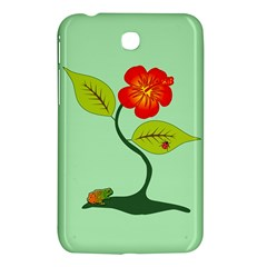 Plant And Flower Samsung Galaxy Tab 3 (7 ) P3200 Hardshell Case