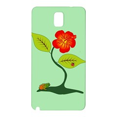 Plant And Flower Samsung Galaxy Note 3 N9005 Hardshell Back Case