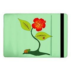 Plant And Flower Samsung Galaxy Tab Pro 10.1  Flip Case