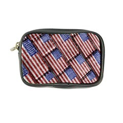 Usa Flag Grunge Pattern Coin Purse