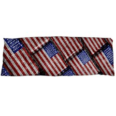 Usa Flag Grunge Pattern Body Pillow Case Dakimakura (Two Sides)
