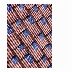 Usa Flag Grunge Pattern Small Garden Flag (Two Sides)