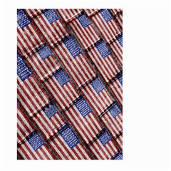 Usa Flag Grunge Pattern Large Garden Flag (Two Sides)