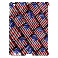 Usa Flag Grunge Pattern Apple iPad 3/4 Hardshell Case (Compatible with Smart Cover)