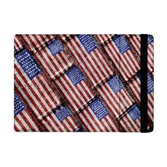 Usa Flag Grunge Pattern Apple iPad Mini Flip Case