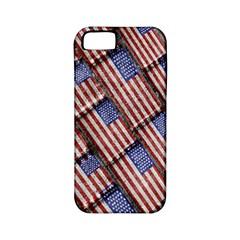 Usa Flag Grunge Pattern Apple iPhone 5 Classic Hardshell Case (PC+Silicone)