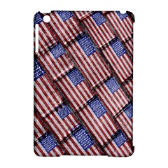Usa Flag Grunge Pattern Apple iPad Mini Hardshell Case (Compatible with Smart Cover)