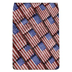 Usa Flag Grunge Pattern Flap Covers (L)