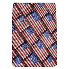Usa Flag Grunge Pattern Flap Covers (S)