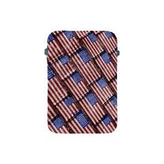 Usa Flag Grunge Pattern Apple iPad Mini Protective Soft Cases