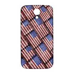 Usa Flag Grunge Pattern Samsung Galaxy S4 I9500/I9505  Hardshell Back Case