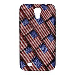 Usa Flag Grunge Pattern Samsung Galaxy Mega 6.3  I9200 Hardshell Case