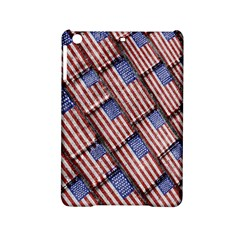 Usa Flag Grunge Pattern iPad Mini 2 Hardshell Cases