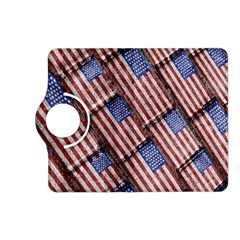 Usa Flag Grunge Pattern Kindle Fire HD (2013) Flip 360 Case