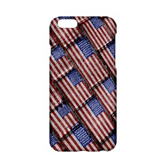 Usa Flag Grunge Pattern Apple iPhone 6/6S Hardshell Case