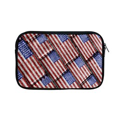 Usa Flag Grunge Pattern Apple MacBook Pro 13  Zipper Case