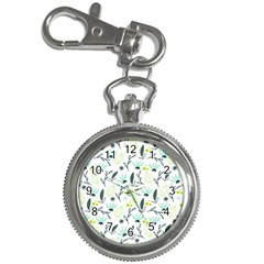 Hand drawm seamless floral pattern Key Chain Watches