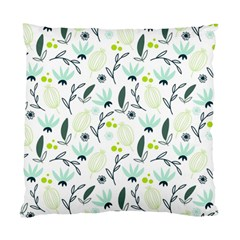 Hand drawm seamless floral pattern Standard Cushion Case (One Side)