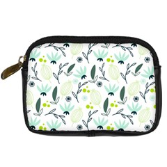 Hand drawm seamless floral pattern Digital Camera Cases