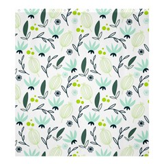 Hand drawm seamless floral pattern Shower Curtain 66  x 72  (Large)