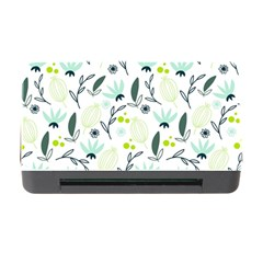 Hand drawm seamless floral pattern Memory Card Reader with CF