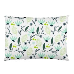 Hand drawm seamless floral pattern Pillow Case (Two Sides)