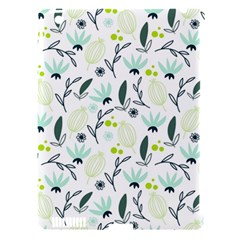 Hand drawm seamless floral pattern Apple iPad 3/4 Hardshell Case (Compatible with Smart Cover)