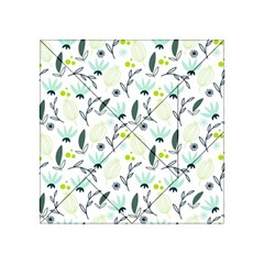 Hand drawm seamless floral pattern Acrylic Tangram Puzzle (4  x 4 )