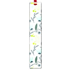 Hand drawm seamless floral pattern Large Book Marks