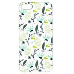 Hand drawm seamless floral pattern Apple iPhone 5 Hardshell Case with Stand
