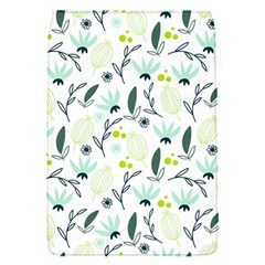 Hand drawm seamless floral pattern Flap Covers (S)