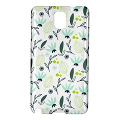 Hand drawm seamless floral pattern Samsung Galaxy Note 3 N9005 Hardshell Case