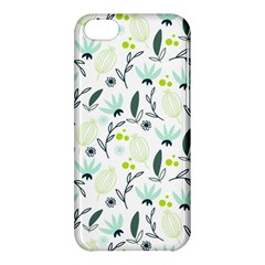 Hand drawm seamless floral pattern Apple iPhone 5C Hardshell Case
