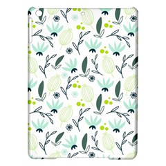 Hand drawm seamless floral pattern iPad Air Hardshell Cases