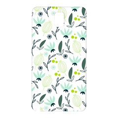 Hand drawm seamless floral pattern Samsung Galaxy Note 3 N9005 Hardshell Back Case