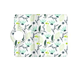Hand drawm seamless floral pattern Kindle Fire HD (2013) Flip 360 Case