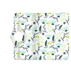 Hand drawm seamless floral pattern Kindle Fire HDX 8.9  Flip 360 Case