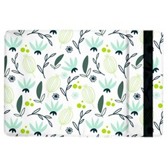 Hand drawm seamless floral pattern iPad Air 2 Flip