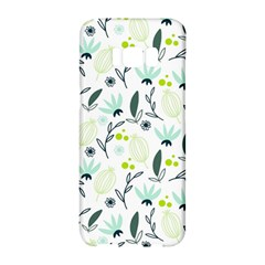 Hand drawm seamless floral pattern Samsung Galaxy S8 Hardshell Case