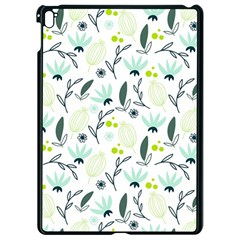 Hand drawm seamless floral pattern Apple iPad Pro 9.7   Black Seamless Case
