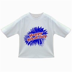 Happy 4th Of July Graphic Logo Infant/Toddler T-Shirts