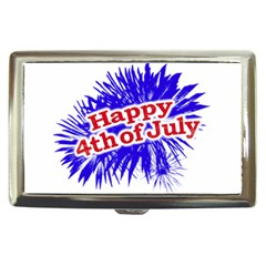 Happy 4th Of July Graphic Logo Cigarette Money Cases