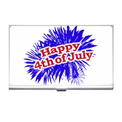 Happy 4th Of July Graphic Logo Business Card Holders