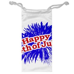 Happy 4th Of July Graphic Logo Jewelry Bag
