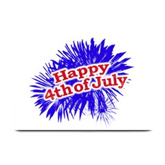 Happy 4th Of July Graphic Logo Plate Mats