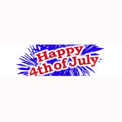 Happy 4th Of July Graphic Logo Large Bar Mats