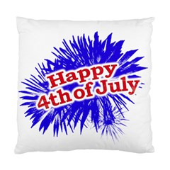 Happy 4th Of July Graphic Logo Standard Cushion Case (Two Sides)